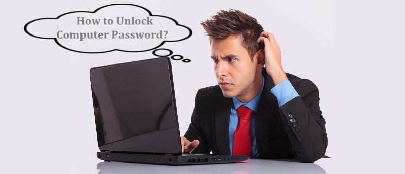how to unlock computer password